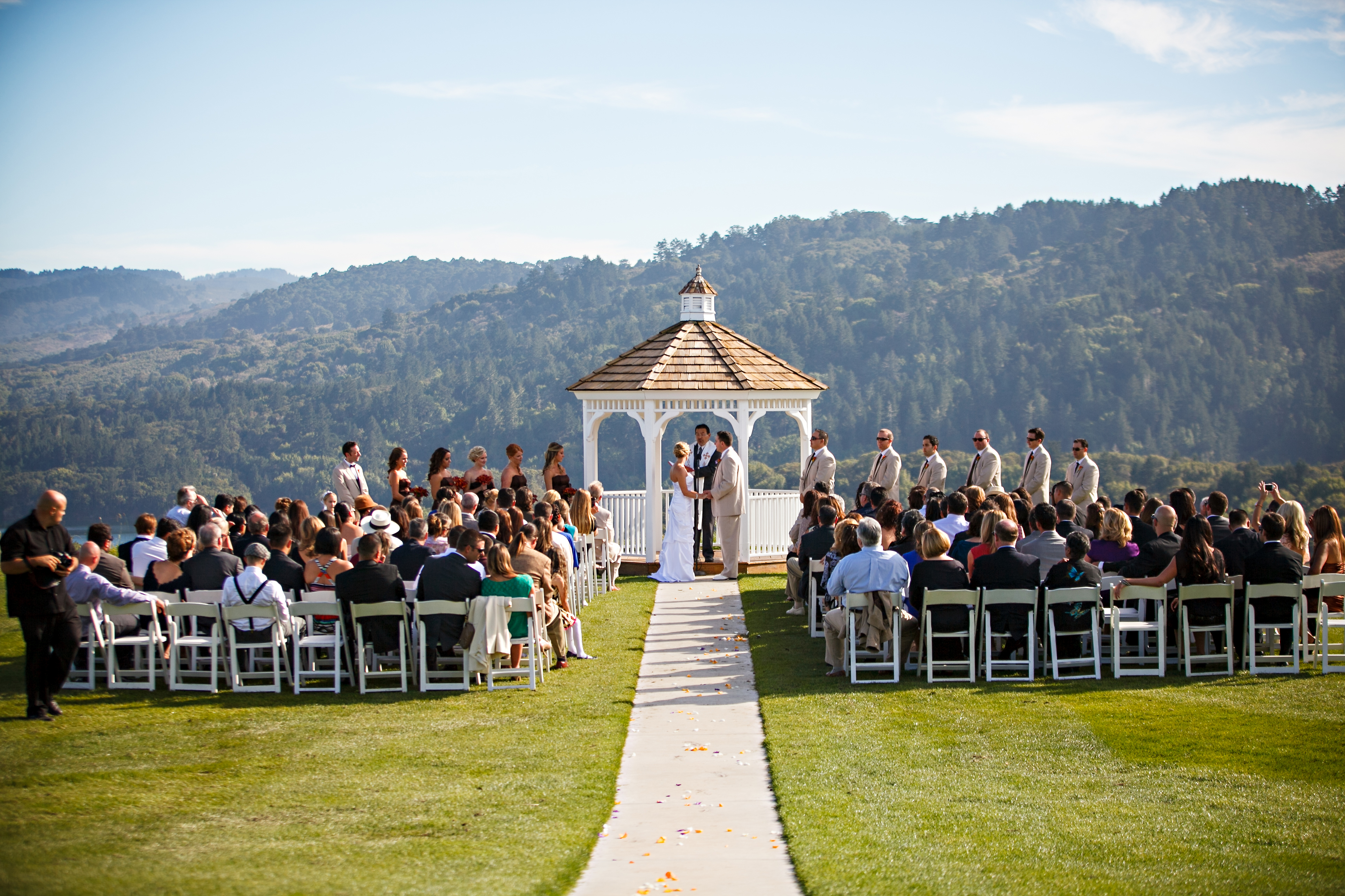 Click To Enlarge Image Ceremony Site With Wedding Jpg